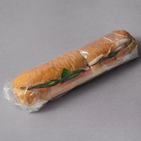LK Packaging 18 inch x 18 inch BOPP Clear Deli Sandwich Wrap - 1000/Case
