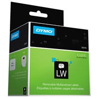 "DYMO 30370 LabelWriter 2"" x 2 5/16"" White Multipurpose Self-Adhesive Label Roll - 250/Roll"