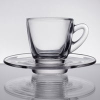 Acopa 2.25 oz. Espresso Cup and Saucer Set - 12/Case