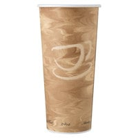 Solo 424MSN-0029 24 oz. Mistique Single Sided Poly Paper Hot Cup - 500/Case