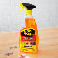 Goo Gone W2180A Pro-Power 24 oz. Adhesive Remover Spray Gel - 4/Case