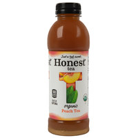 Honest Tea 16.9 oz. Organic Sweetened Peach Oolong Iced Tea - 12/Case