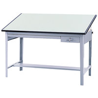 Safco 3953 Precision 72 inch x 37 1/2 inch Green Drafting Table Top