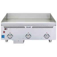 Vulcan VCCG36-IC Natural Gas 36 inch Griddle with Infrared Burner and Rapid Recovery Plate - 72,000 BTU