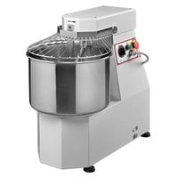 Avancini 40 lb. Heavy Duty Single Speed Spiral Dough Mixer - 220V, 1 Phase