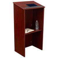 Oklahoma Sound 222-MY Mahogany Finish Full Floor Host Stand