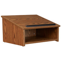 Oklahoma Sound 22-MO Medium Oak Finish Tabletop Host Stand