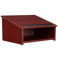 Oklahoma Sound 22-MY Mahogany Finish Tabletop Host Stand