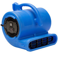 B-Air VPX34-BL Vent Blue 2-Speed Air Mover - 1/3 hp