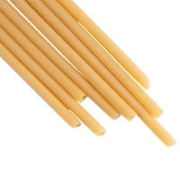 Eco-Friendly Biodegradable Jumbo 9 1/2 inch Pasta Straw - 600/Case