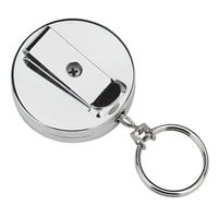 SecurIT 04990 20 inch Stainless Steel Wearable Pull Reel Key Organizer