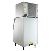 Scotsman C0530SA-1 Prodigy Series 30 inch Air Cooled Small Cube Ice Machine / Stainless Steel Storage Bin with Vari-Smart Ice Level Control Kit - 525 lb.