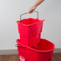 Rubbermaid Professional Plus Commercial Wringer Mop Bucket 28 q.. Free Shipping