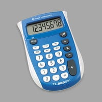 Texas Instruments TI-503SV 8-Digit LCD Pocket Calculator