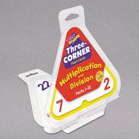 Trend T1671 Three-Corner Multiplication and Division Flash Cards - 48/Pack