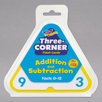 Trend T1670 Three-Corner Addition and Subtraction Flash Cards - 48/Pack