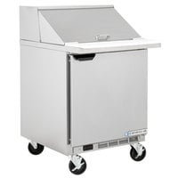 Beverage-Air SPE27HC-12M Elite Series 27 inch 1 Door Mega Top Refrigerated Sandwich Prep Table