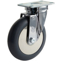 Cambro 60294 5 inch Swivel Plate Caster for Ice Caddies