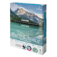 Domtar 2700 EarthChoice 8 1/2 inch x 11 inch White 20# Office Paper Case - 5000 Sheets