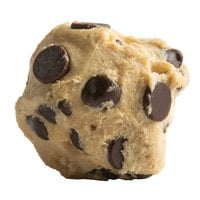 David's Cookies 1.5 oz. Preformed Gluten Free Chocolate Chip Cookie Dough - 120/Case