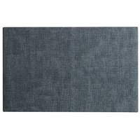 H. Risch, Inc. SP-0004 Seaport 17 1/2 inch x 12 inch Tide Pool Woven Vinyl Rectangle Placemat