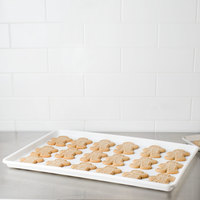 Choice 18 inch x 26 inch White Bakery Display Tray