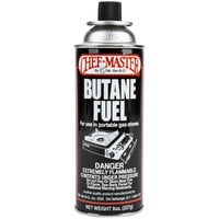 Chef Master Butane Fuel Refill 8 oz. Canister - 12/Case