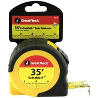 "GreatNeck 95010 ExtraMark 1"" x 35' Steel Tape Measure"