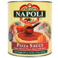 Napoli Foods #10 Super Heavy Pizza Sauce with Basil