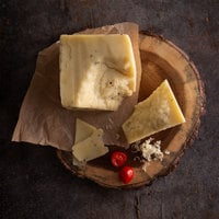 Centro Form 2.2 lb. Pecorino Cheese with Burgundy Summer Truffles Block - 2/Case