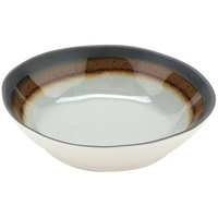 GET B-450-MBR Mantle 4.5 oz. Brown Melamine Salad Bowl - 48/Pack