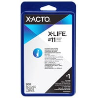X-Acto X511 #11 Classic Fine Point Knife Blade - 500/Box