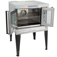 Bakers Pride BCO-E1 Cyclone Series Single Deck Full Size Electric Convection Oven with Legs - 220-240V, 1 Phase, 10500W