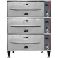APW Wyott HDXi-3 Ease Extreme Digital 3 Drawer Warmer - 120V