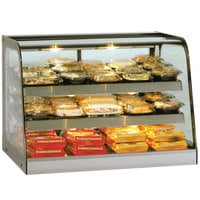 Federal Industries CH4828SSD Signature Series 47 inch Self-Service Heated Countertop Display Cabinet - 12.5 Cu. Ft.