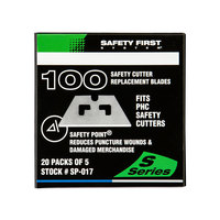 Pacific Handy Cutter SP-017 Safety Point Blade   - 100/Pack