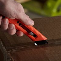 Pacific Handy Cutter S5L Red Left-Handed 3-In-1 Safety Cutter