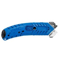 Pacific Handy Cutter S8 Blue Ambidextrous Cutter with Guarded Safety Blade