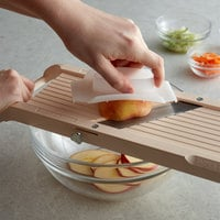 Matfer Bourgeat 186706MC Benriner Big Beni Japanese Mandoline with 3 Interchangeable Blades