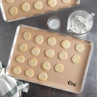 Choice 16 1/2 inch x 24 1/2 inch Full Size Silicone Non-Stick Baking Mat