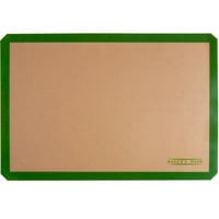 Baker's Mark 16 1/2 inch x 24 1/2 inch Full Size Heavy Duty Silicone Non-Stick Baking Mat