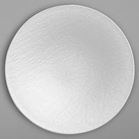 Villeroy & Boch 16-4077-2701 The Rock 11 1/4 inch White Glacier Coupe Deep Porcelain Plate - 6/Case