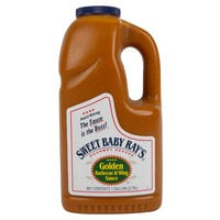 Sweet Baby Ray's 1 Gallon Golden Barbecue & Wing Sauce
