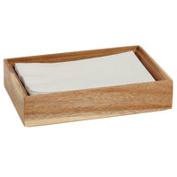 GET Enterprises WB-962WD-UR Urban Renewal 9 inch x 6 inch x 2 inch Urban Rustic Rectangular Stackable Wood Display Box