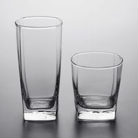 Acopa Cube Rocks and Beverage Glass Set - 24/Set