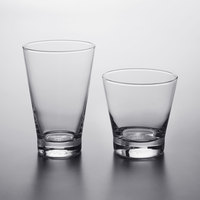 Acopa Fusion Rocks and Beverage Glass Set - 24/Set