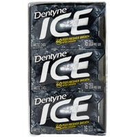 Dentyne Ice Arctic Chill Sugar-Free Gum 16-Piece Pack - 162/Case