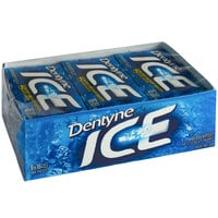 Dentyne Ice Peppermint Sugar-Free Gum 16-Piece Pack - 162/Case