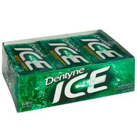 Dentyne Ice Spearmint Sugar-Free Gum 16-Piece Pack - 162/Case