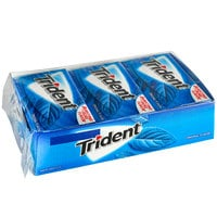 Trident Original Sugar-Free Gum 14-Piece Pack - 144/Case